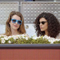 Silvia Abascal e Irene Visedo en la final del Madrid Open 2014