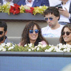 Rubén Cortada, Kalia Garzón e Hiba Abouk en la final del Madrid Open 2014