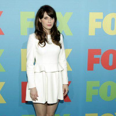 Zooey Deschanel en los Upfronts de FOX 2014