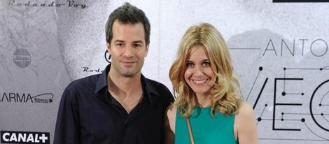 Alexandra Jiménez y Luis Rallo en el estreno del documental sobre Antonio Vega