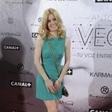 Alexandra Jiménez en el estreno del documental sobre Antonio Vega
