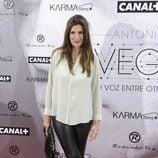 Elia Galera en el estreno del documental sobre Antonio Vega