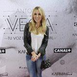 Berta Collado en el estreno del documental sobre Antonio Vega