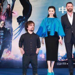 Hugh Jackman, Peter Dinklage y Fan Bingbing presentan 'X-Men: días del futuro pasado' en Pekín