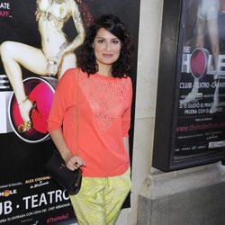 Ledicia Sola en la despedida de 'The Hole 2' de Madrid