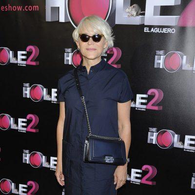 Antonia San Juan en la despedida de 'The Hole 2' de Madrid