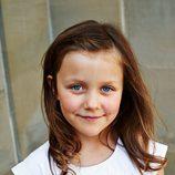 Isabel de Dinamarca posa con motivo del décimo aniversario de boda de sus padres
