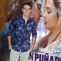 Daniel Muriel en el estreno de 'Por un puñado de besos' en Madrid