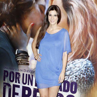 Cecilia Gessa en el estreno de 'Por un puñado de besos' en Madrid