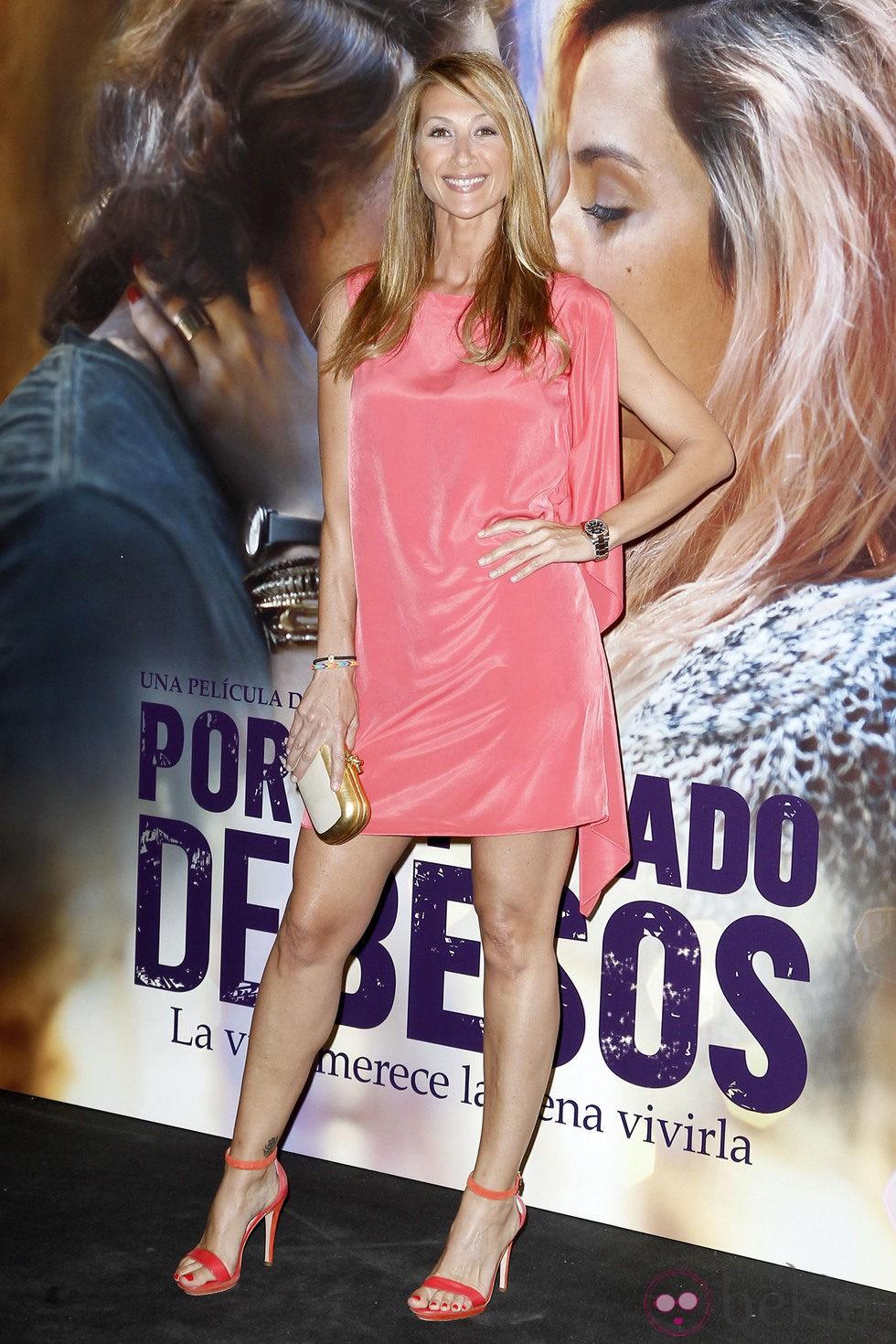 Mónica Pont en el estreno de 'Por un puñado de besos' en Madrid