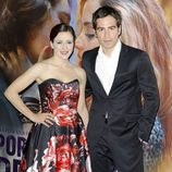 Ruth Núñez y Alejandro Tous en el estreno de 'Por un puñado de besos' en Madrid