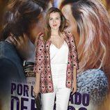 Andrea Guasch en el estreno de 'Por un puñado de besos' en Madrid