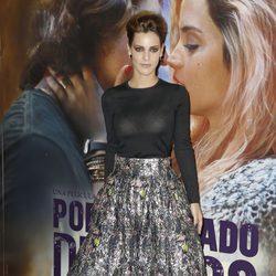 Alejandra Onieva en el estreno de 'Por un puñado de besos' en Madrid