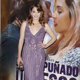Andrea Duro en el estreno de 'Por un puñado de besos' en Madrid