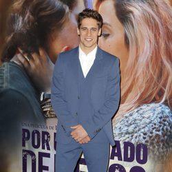 Martín Rivas en el estreno de 'Por un puñado de besos' en Madrid