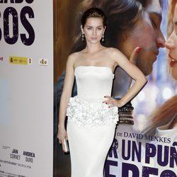 Ana de Armas en el estreno de 'Por un puñado de besos' en Madrid