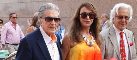 Jaime Ostos y María Ángeles Grajal en la Corrida de San Isidro 2014