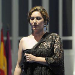 Estrella Morente actuando en la entrega de las Medallas de Oro de Madrid en San Isidro 2014