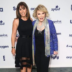 Joan Rivers y Melissa Rivers en los Upfronts de la NBC Universal 2014