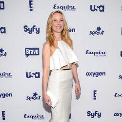 Anne Heche en los Upfronts de la NBC Universal 2014