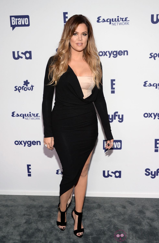 Khloe Kardashian en los Upfronts de la NBC Universal 2014