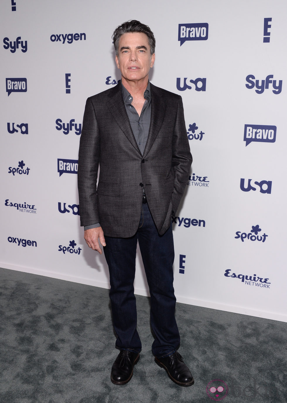 Peter Gallagher en los Upfronts de la NBC Universal 2014