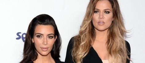 Kim Kardashian y Khloe Kardashian en los Upfronts de la NBC Universal 2014
