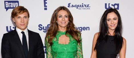 William Moseley, Elizabeth Hurley y Alexandra Park en los Upfronts de la NBC Universal 2014