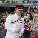 El Príncipe Harry de Inglaterra de visita oficial en Tallin
