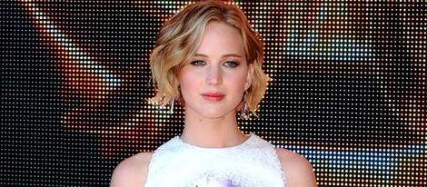 Jennifer Lawrence presenta 'Los Juegos del Hambre: Sinsajo. Parte 1' en Cannes 2014