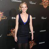 Jennifer Lawrence en la fiesta de presentación de 'Sinsajo. Parte 1' en Cannes 2014