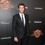 Liam Hemsworth en la fiesta de presentación de 'Sinsajo. Parte 1' en Cannes 2014