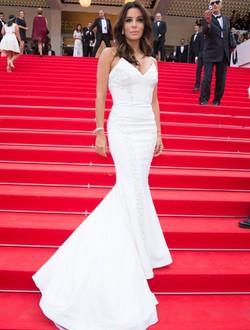 Eva Longoria en la alfombra roja del Festival de Cannes 2014