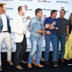El equipo de 'Los Mercenarios 3' en Cannes 2014