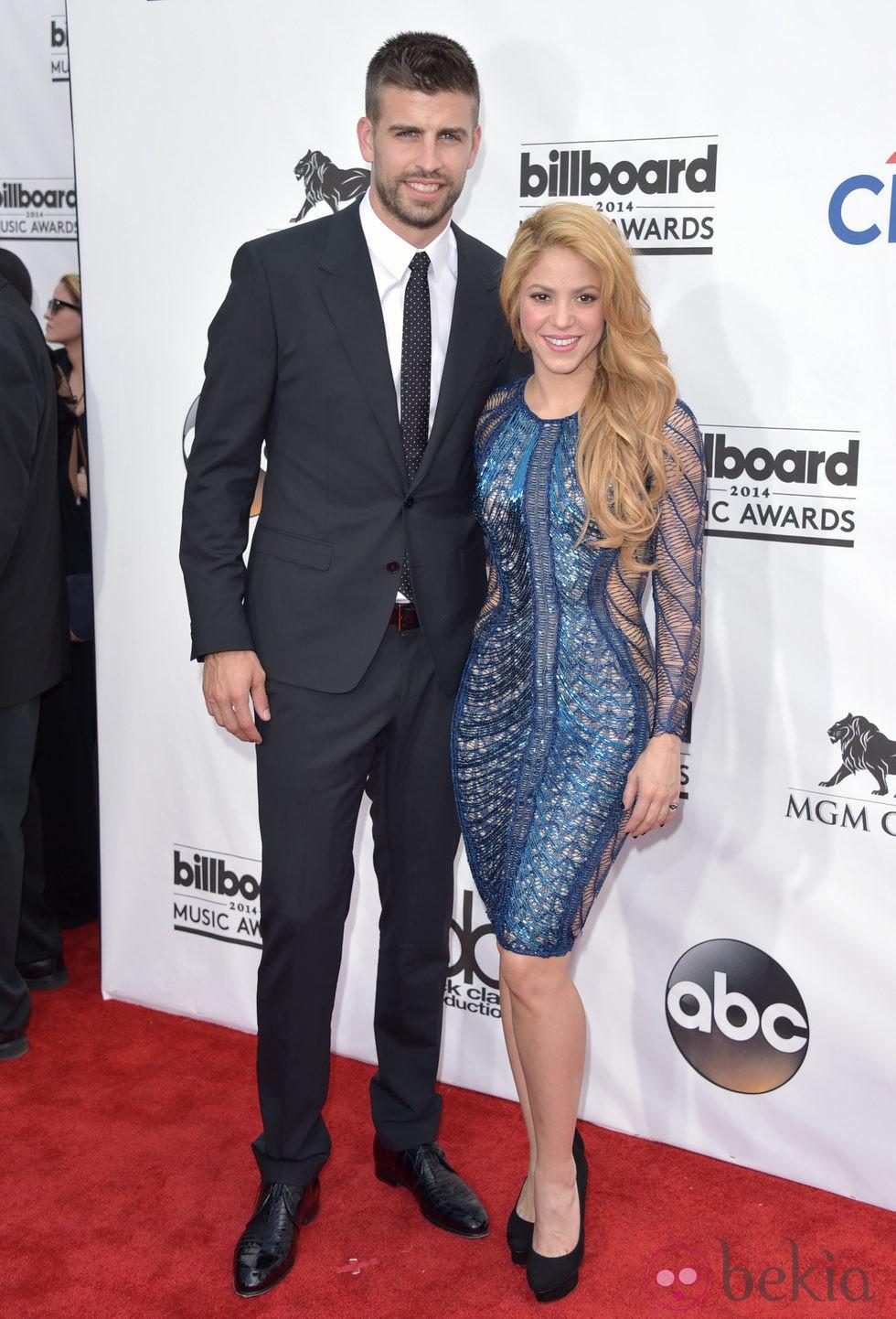 Gerard Piqué y Shakira en los Billboard Awards 2014
