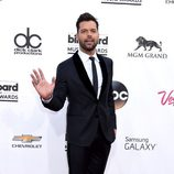Ricky Martin en la alfombra roja de los Billboard Music awards 2014