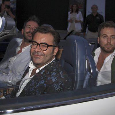 Jorge Javier Vázquez, embajador de coches de lujo de alquiler en Ibiza