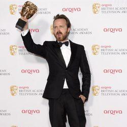 Aaron Paul en los BAFTA Television 2014