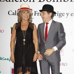 Julia Otero e Ignacio González en la entrega de los Bombines de San Isidro 2014
