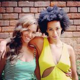 Beyoncé y Solange Knowles en Nueva Orleans