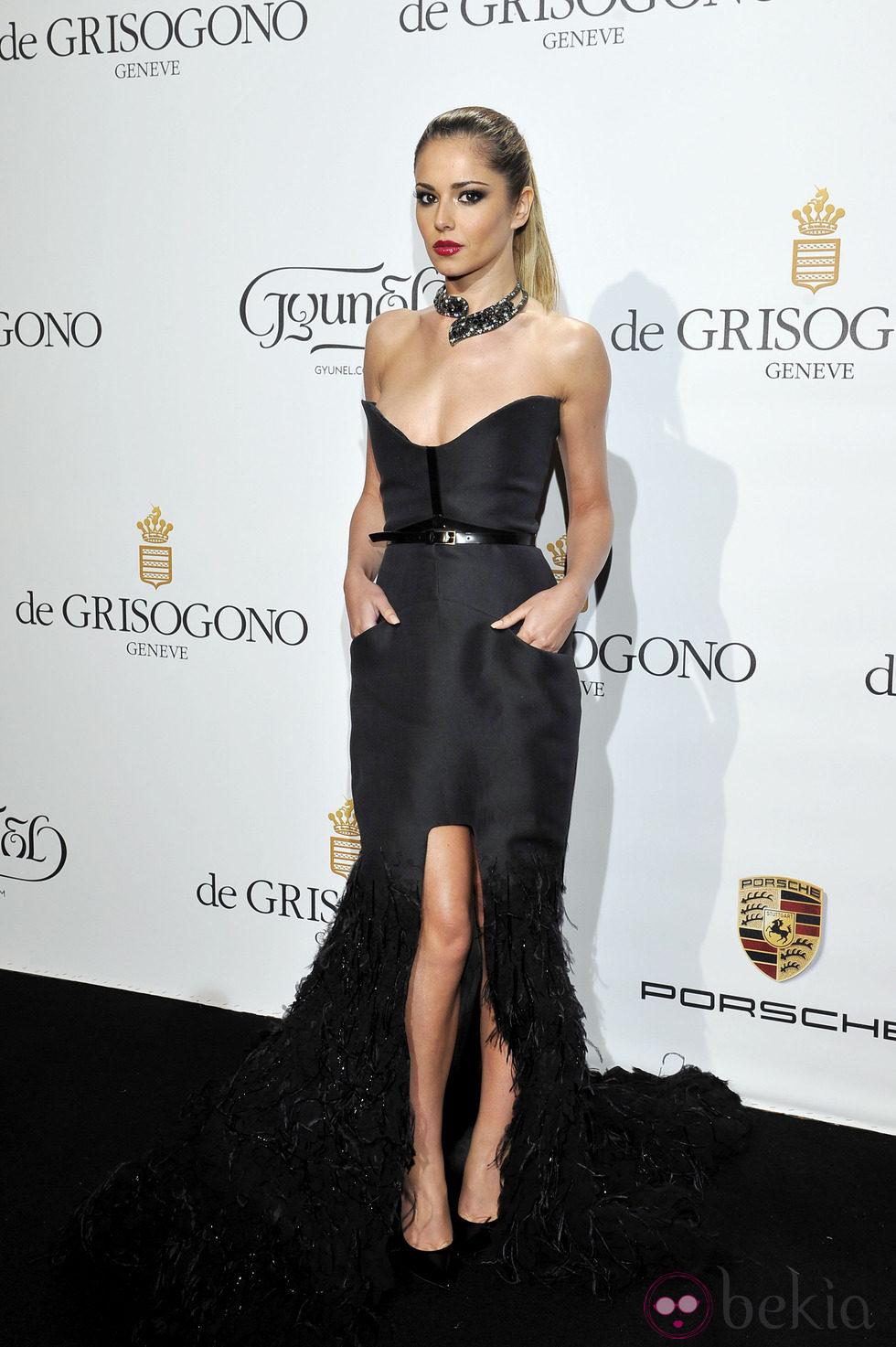 Cheryl Cole en una de las fiestas del Festival de Cannes 2014