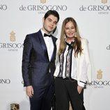 Eva Cavalli y Robin Cavalli en el Festival de Cannes 2014