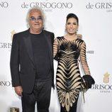 Flavio Briatore y Elisabetta Gregoraci en el Festival de Cannes 2014