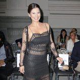 Ivonne Reyes en la pasarela Costura España 2014
