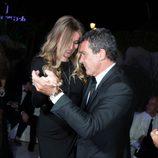 Antonio Banderas baila enla fiesta de Di Grisogono en el Festival de Cannes 2014