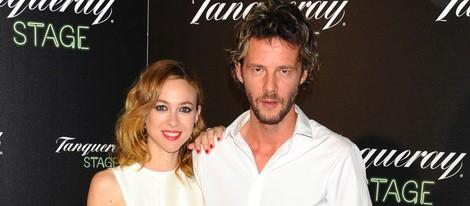 Marta Hazas y Eloy Azorín en el estreno de 'Confesiones de un Bartender'