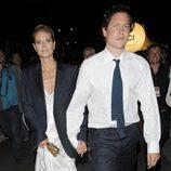 Heidi Klum y Vito Schnabel en una fiesta en el yate de Roberto Cavalli en Cannes 2014