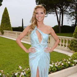 Heidi Klum en la gala amfAR del Festival de Cannes 2014