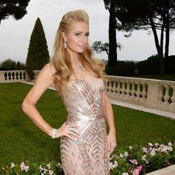 Paris Hilton en la gala amfAR del Festival de Cannes 2014