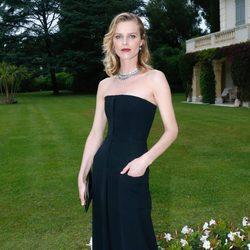 Eva Herzigová en la gala amfAR del Festival de Cannes 2014